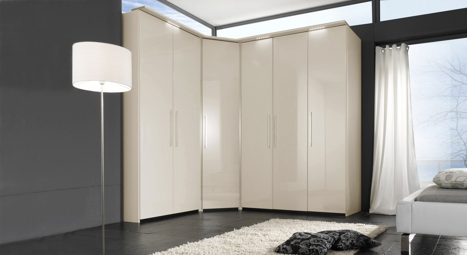 eckkleiderschrank m bel einebinsenweisheit. Black Bedroom Furniture Sets. Home Design Ideas