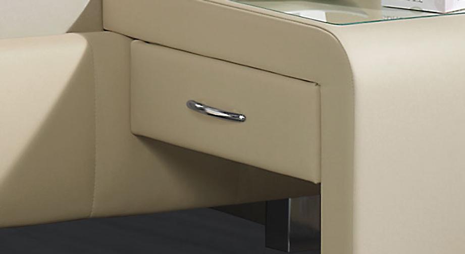 Einhängekonsole Nuca inklusive einem Auszug mit Metallgriff
