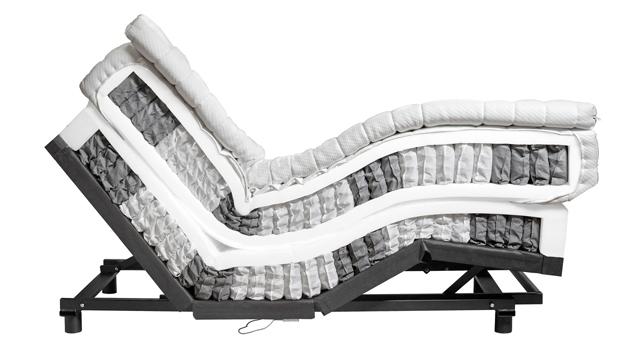 Airflex-Boxspringbetten mit elektrischer Verstellung