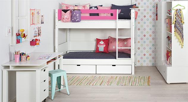 Etagenbett Kids Town mit passenden Produkten