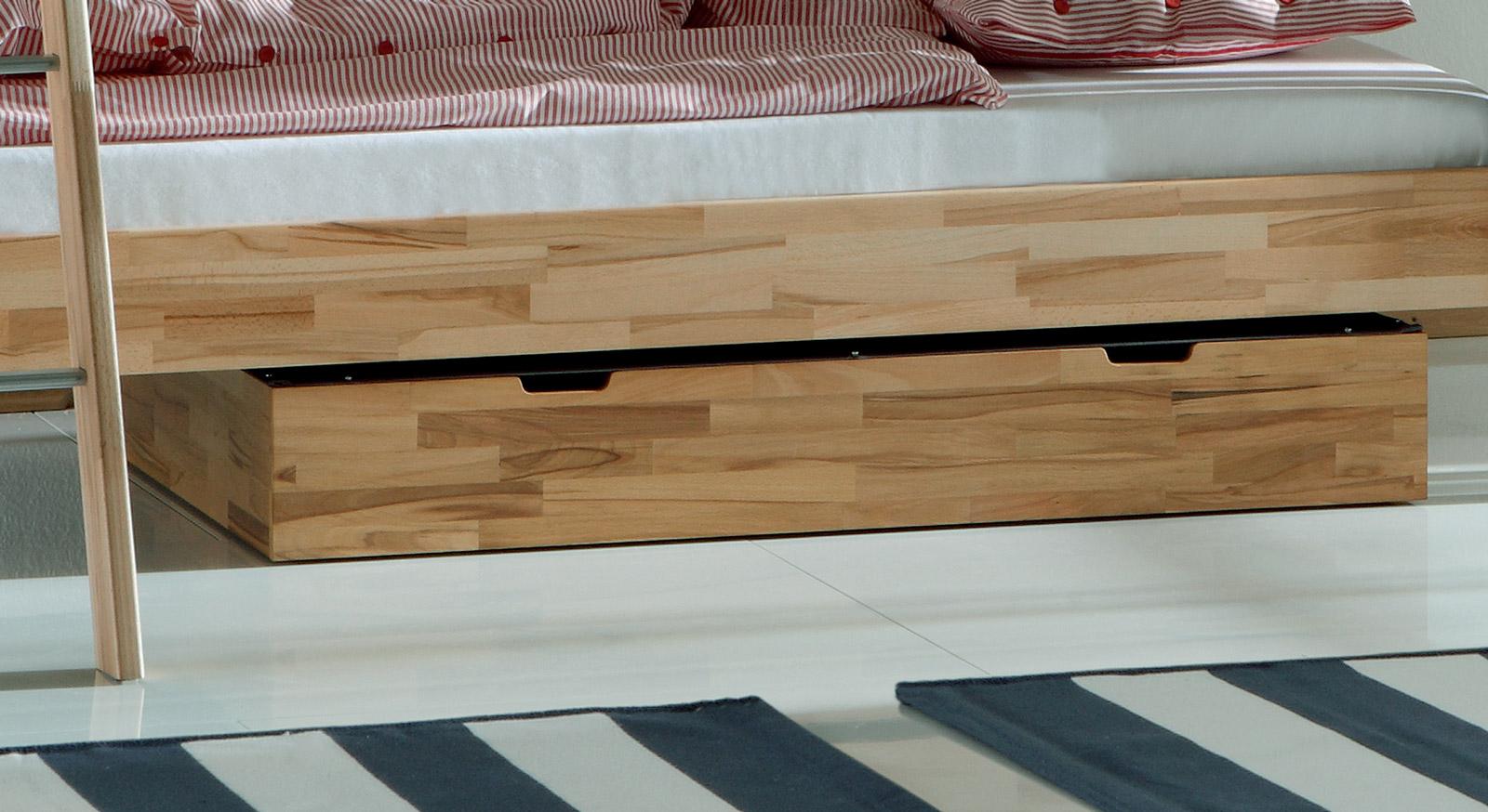 Etagenbett Lorena mit Bettschubkasten als Zubehör