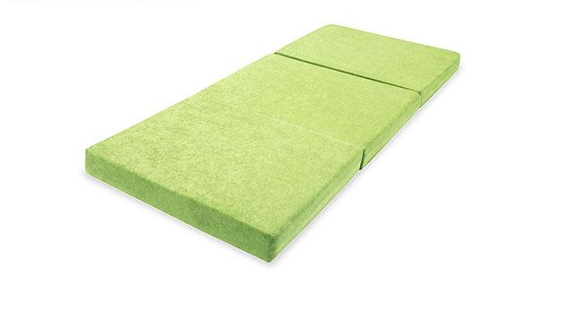 Faltmatratze Wild-Berry in grün