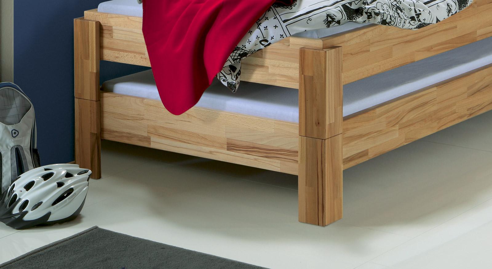 Bett Stapelbar zwei betten gleicher größe stapelbar stapelbett elliot
