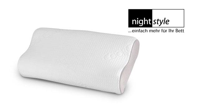 Komfortables Gelax-Nackenstützkissen nightstyle
