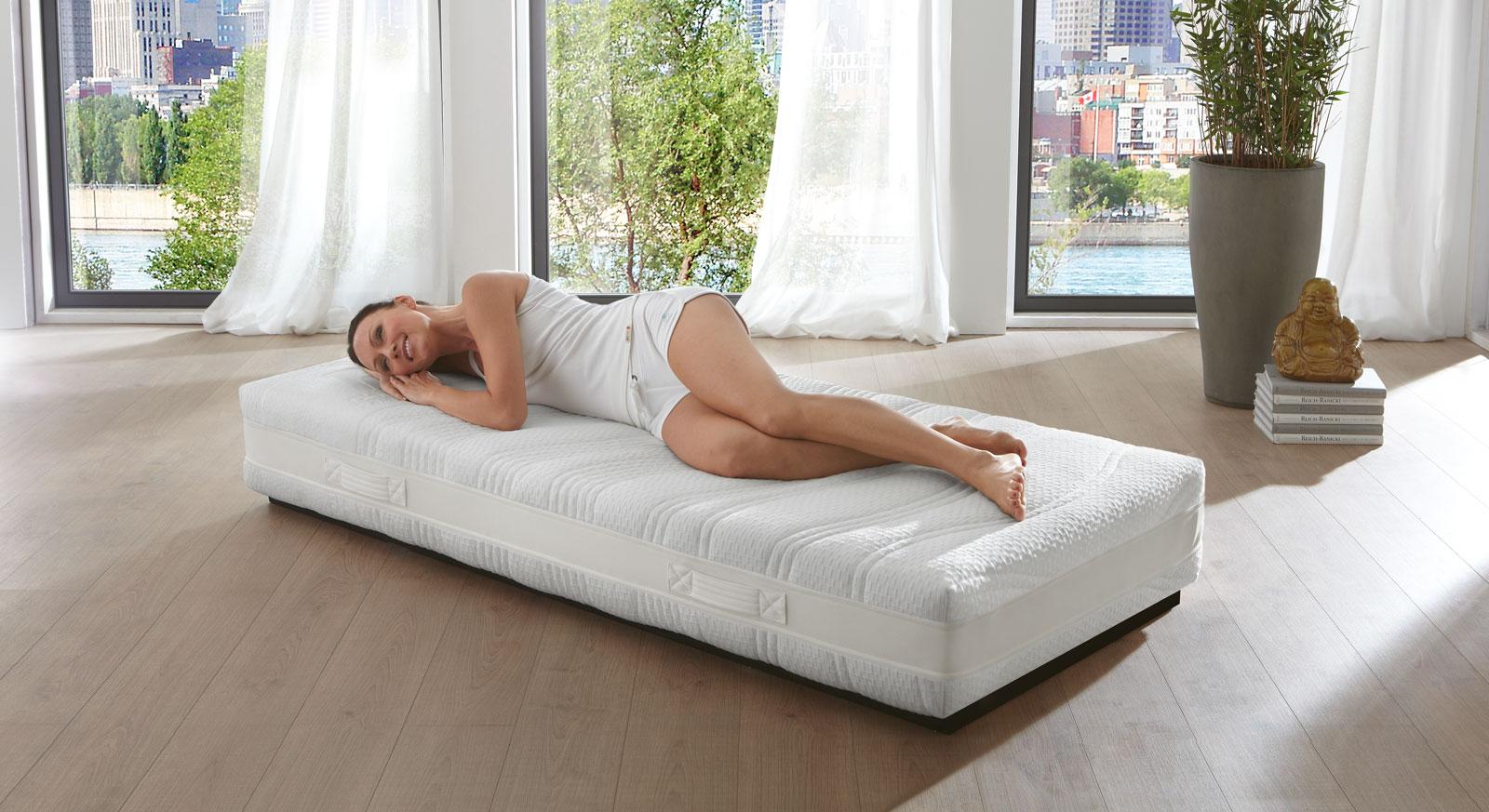 Gelax-Schaumfeder-Matratze Hylex-Spring für alle Schlafpositionen geeignet