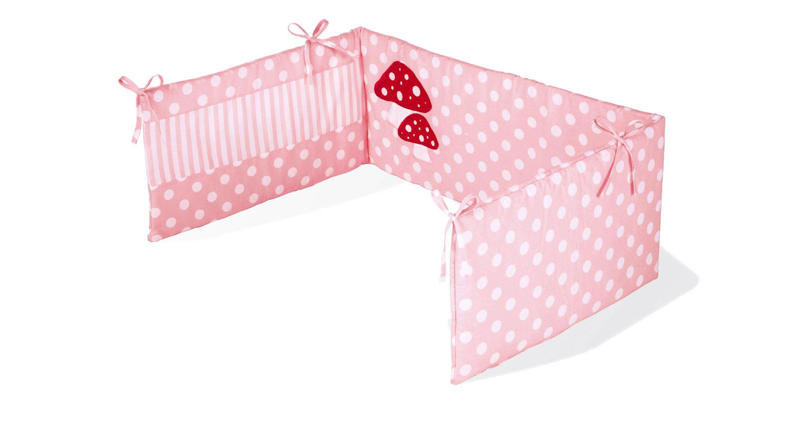 betthimmel und nestchen gl ckspilz rosa f r m dchen. Black Bedroom Furniture Sets. Home Design Ideas