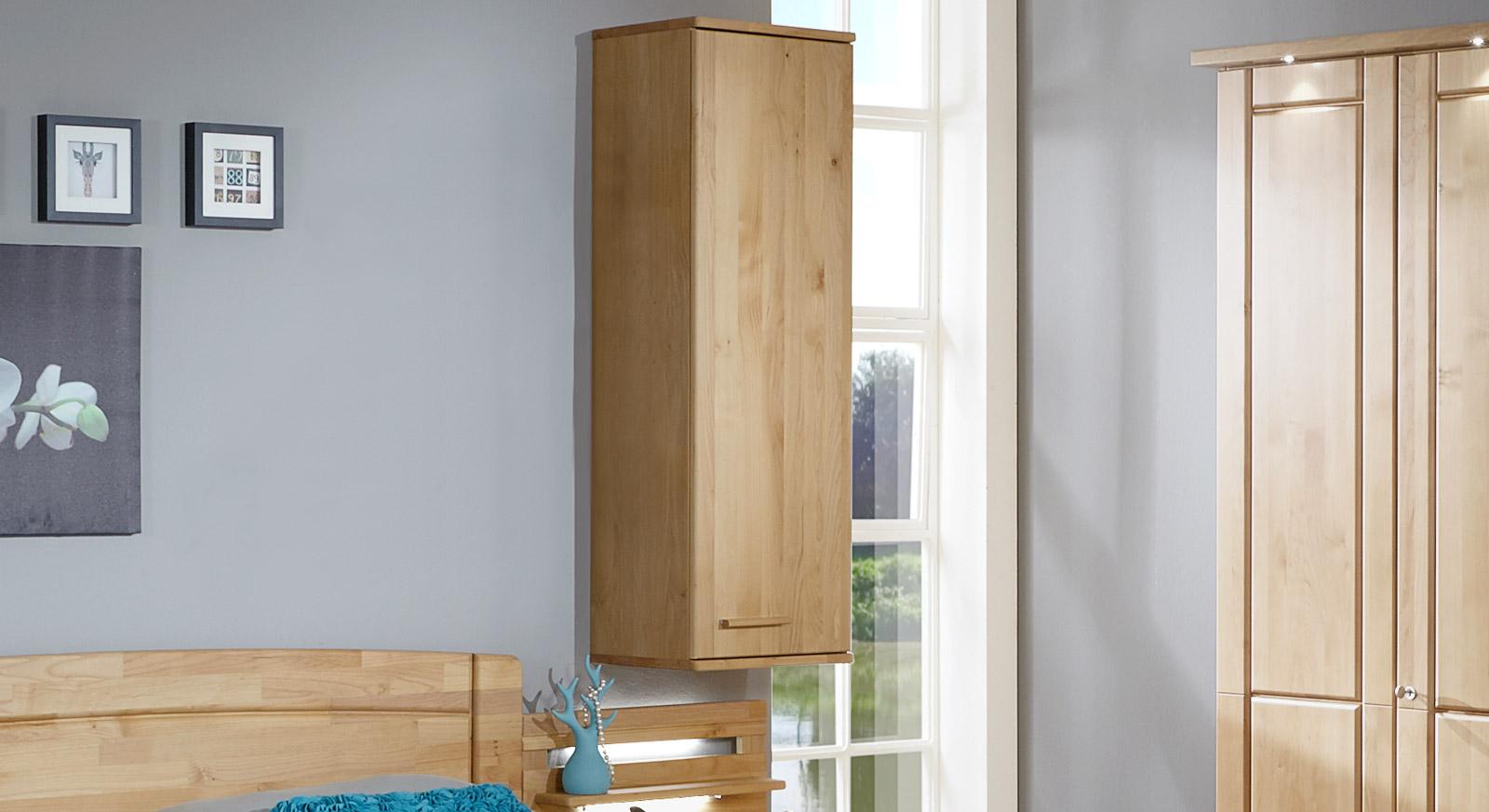 h ngeschrank f r schlafzimmer optional mit regalb den. Black Bedroom Furniture Sets. Home Design Ideas