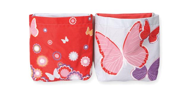 Hängetasche Kids Town im Butterfly-Motiv
