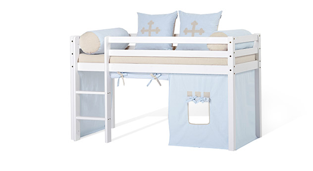 Halbhohes Bett Kids Heaven als kleines Kinderbett