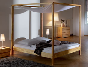 himmelbetten g nstig online z b auf rechnung kaufen. Black Bedroom Furniture Sets. Home Design Ideas
