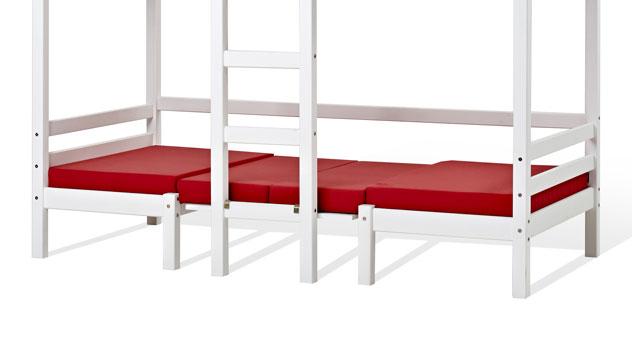 Hoch- und Etagenbett Kids Heaven bestehend aus zwei Betten