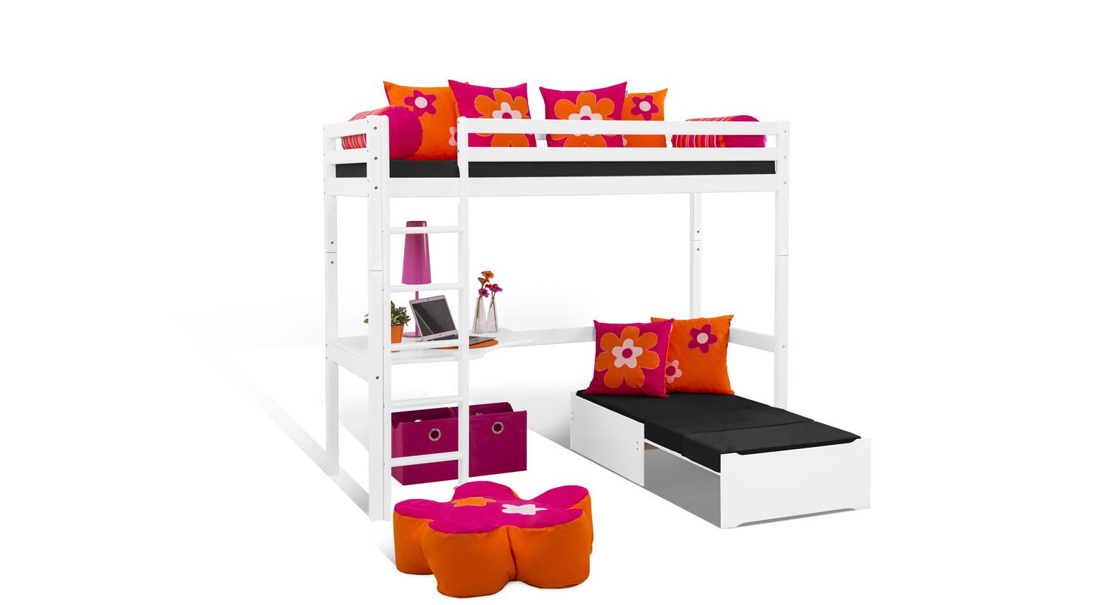 Passende Produkte zum Hochbett Kids Heaven mit Loungeecke