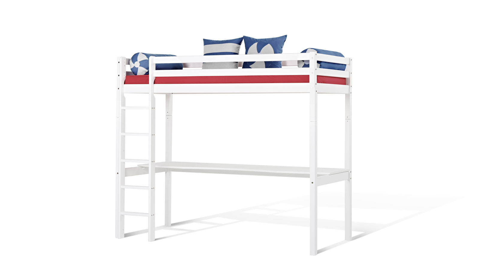 wei es hochbett aus kiefer massiv kids heaven mit. Black Bedroom Furniture Sets. Home Design Ideas
