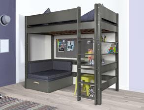 hohe kinderbetten g nstig online kaufen. Black Bedroom Furniture Sets. Home Design Ideas