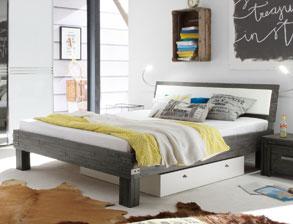 Betten im Loft-Design günstig kaufen | BETTEN.de
