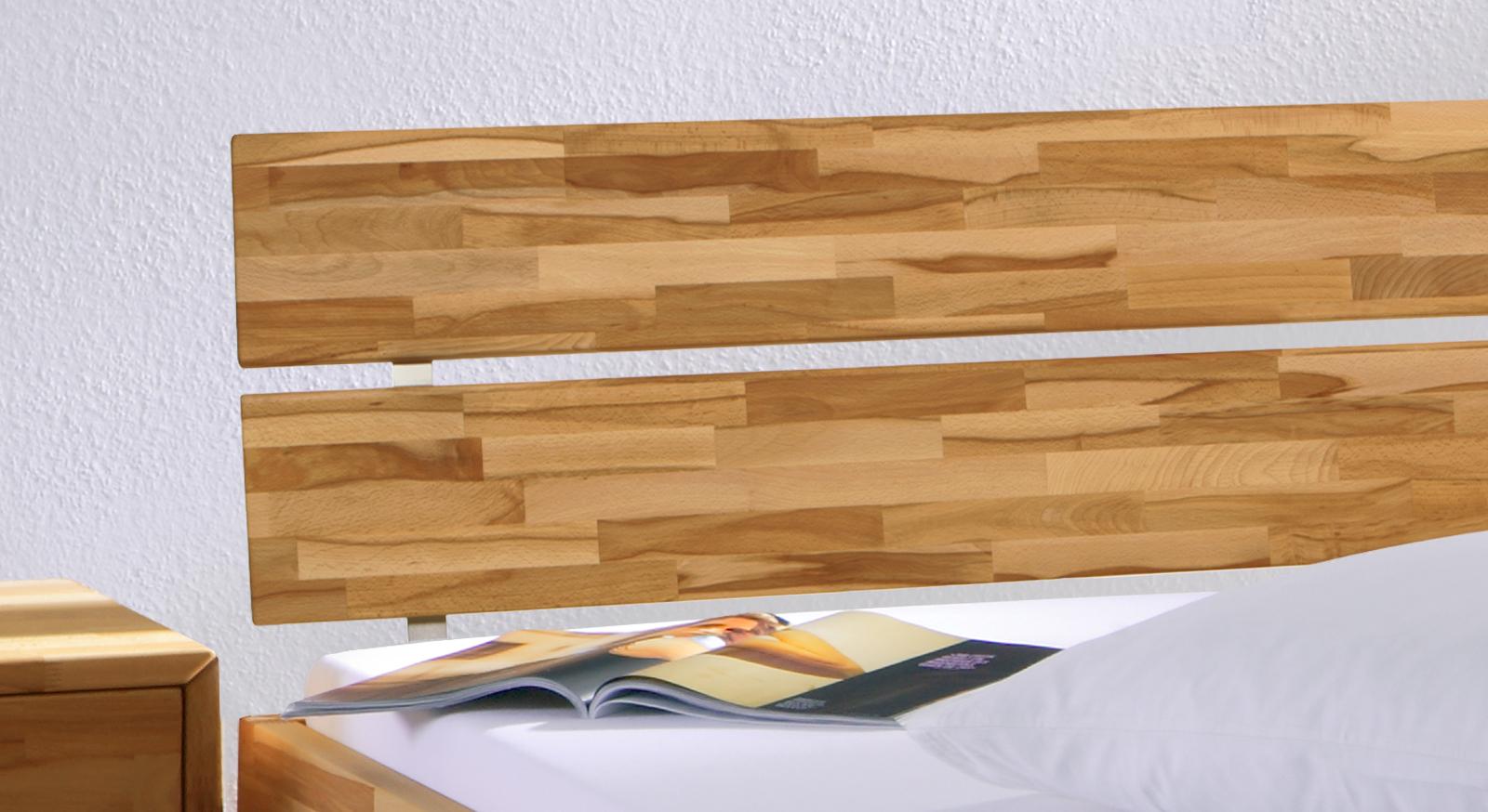 Holzbett Madrid Komfort inklusive Kopfteil