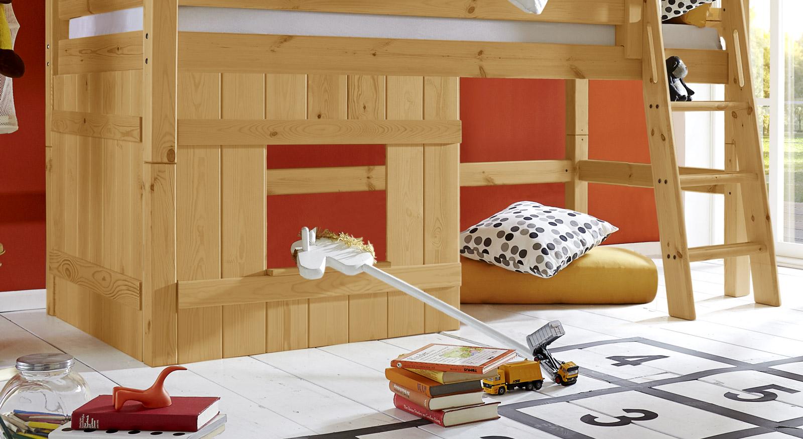 Holzverkleidung Kids Paradise Kiefer gelaugt