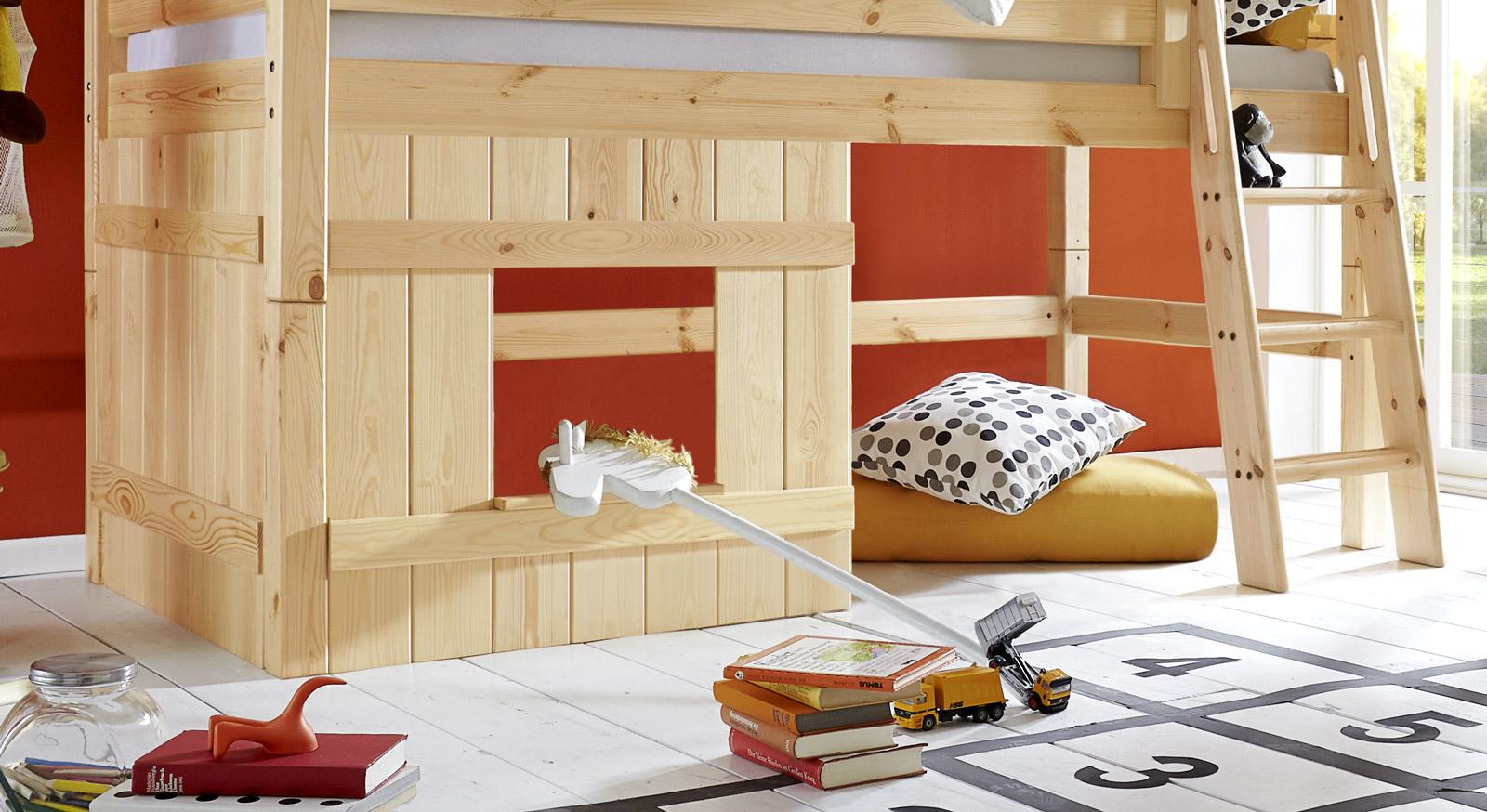 Holzverkleidung Kids Paradise Kiefer natur