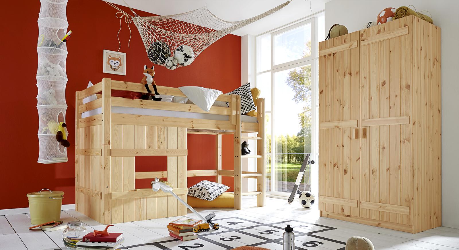 Passende Produkte zum Hütten-Hochbett Kids Paradise