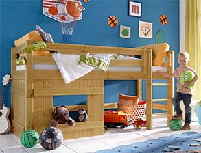 abenteuerbetten kaufen f r ihr kinderzimmer. Black Bedroom Furniture Sets. Home Design Ideas