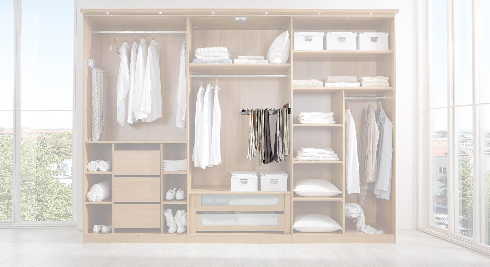 Hosen-Auszug der Innenausstattung für Kleiderschränke