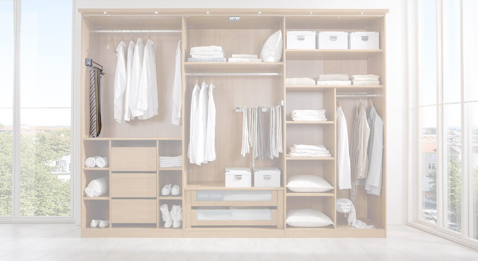 Krawatten- und Gürtel-Auszug der Innenausstattung für Kleiderschränke