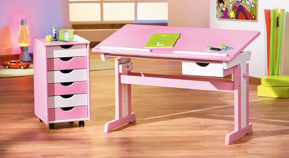 Schreibtisch Jana Rosa Weiß