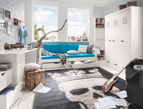 Jugendzimmer komplett  Jugendzimmer komplett einrichten mit Möbeln von BETTEN.de
