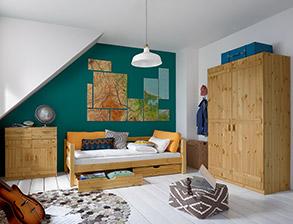 jugendzimmer komplett einrichten mit m beln von. Black Bedroom Furniture Sets. Home Design Ideas