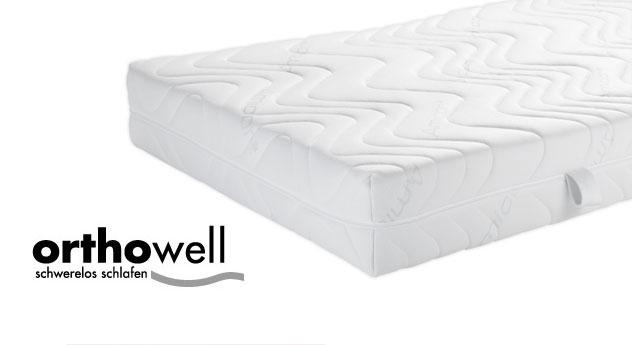7 zonen kaltschaummatratze f r allergiker orthowell vital. Black Bedroom Furniture Sets. Home Design Ideas