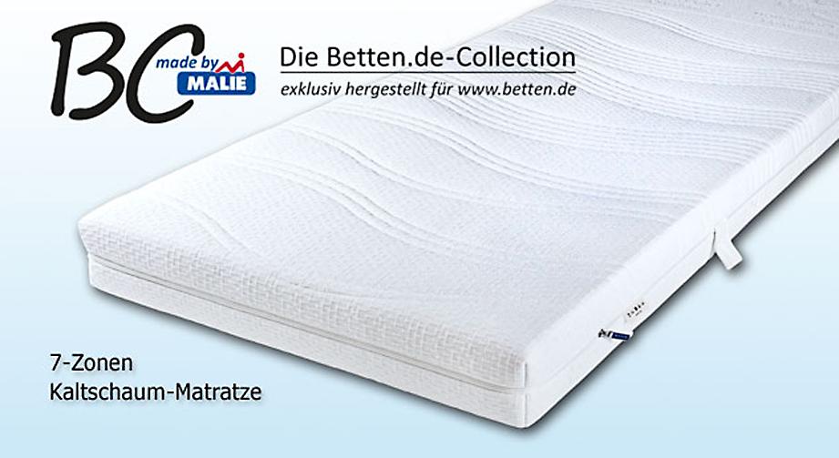 Kaltschaum-Matratze Winner Premium mit Aloe-Vera Doppeltuch