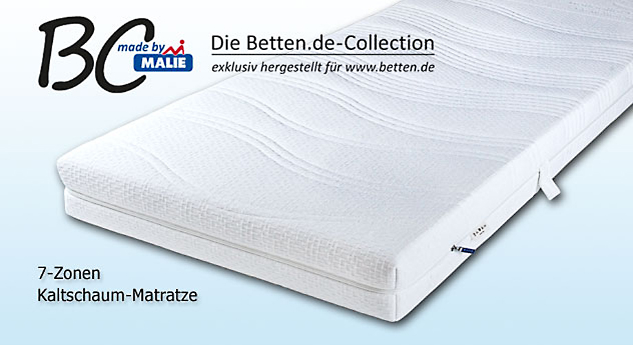 matratze winner premium als exklusiv edition von malie. Black Bedroom Furniture Sets. Home Design Ideas