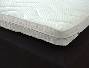 hochwertiger kaltschaum topper mit festem liegegefuehl. Black Bedroom Furniture Sets. Home Design Ideas