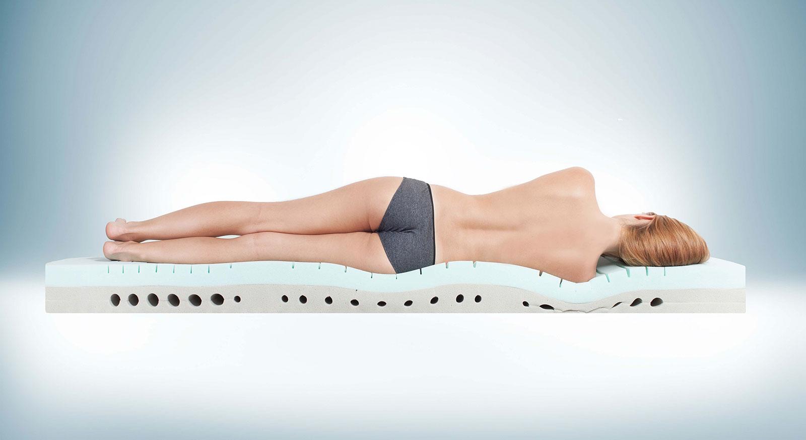 Kaltschaummatratze youSleep 100 mit optimaler Anpassung