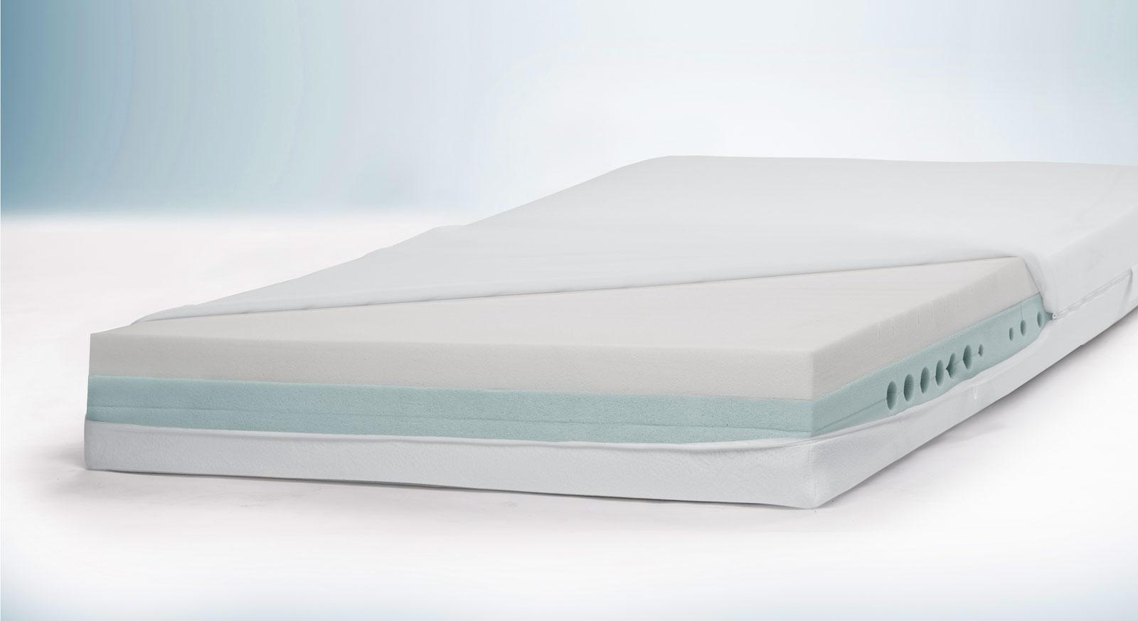 Kaltschaummatratze youSleep 600 inklusive Kern mit Mehrschichtaufbau