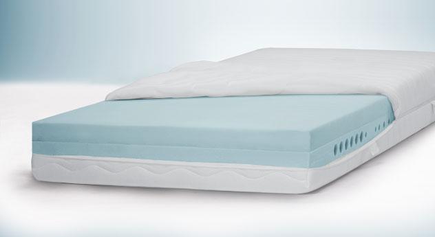 Kaltschaummatratze youSleep 700 mit 20 cm hohem Matratzenkern