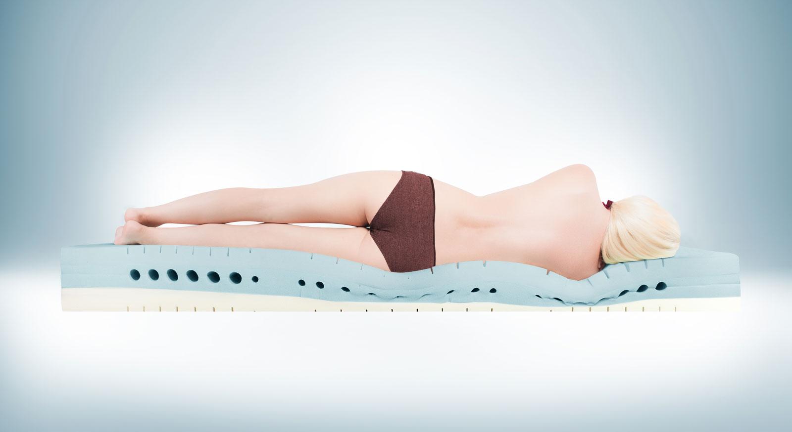 Kaltschaummatratze youSleep 700 ideal für Seitenschläfer