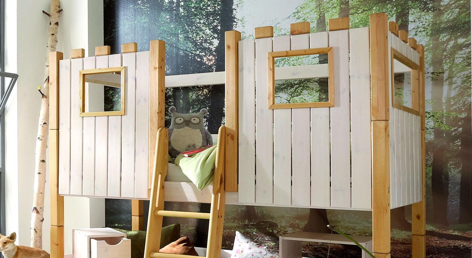 kids-paradise hochbett aufsatz ritterburg