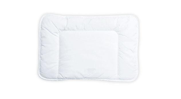 Kinder-Bettdecke & Kissen mit dreiseitiger Randrolle