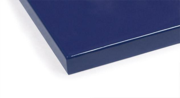 Blaues MDF-Farbmuster für Kinderbetten