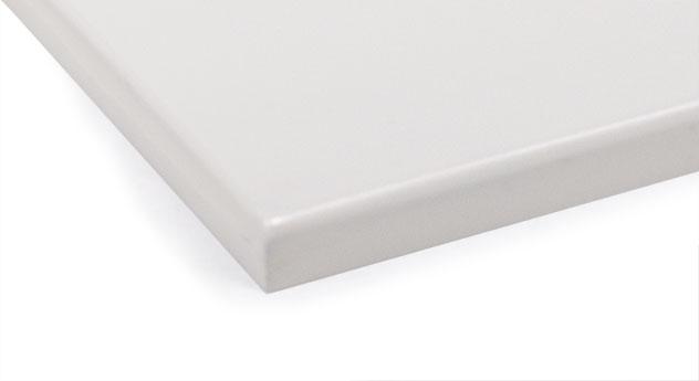 Weißes MDF-Farbmuster für Kinderbetten