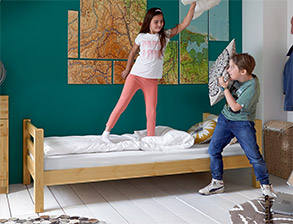 kinderm bel g nstig kinderzimmer m bel preiswert kaufen. Black Bedroom Furniture Sets. Home Design Ideas