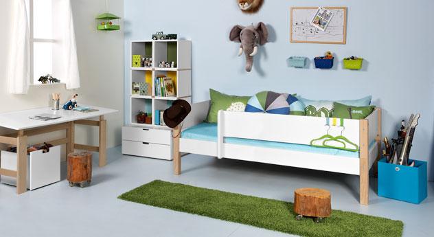Kinderbett Kids Town mit passenden Produkten
