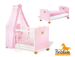s e babybetten mit himmel f r ihr zuhause kaufen. Black Bedroom Furniture Sets. Home Design Ideas