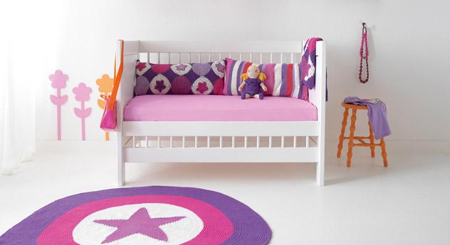 Gitterbett LIFETIME Original umgebaut zur Bettbank