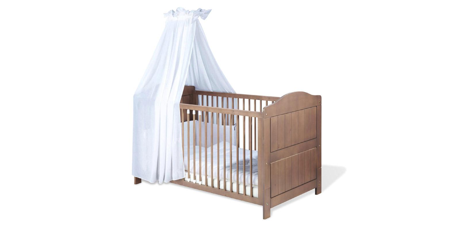 Kinderbett Lina Gitterbett herausnehmbare Schlupfsprossen