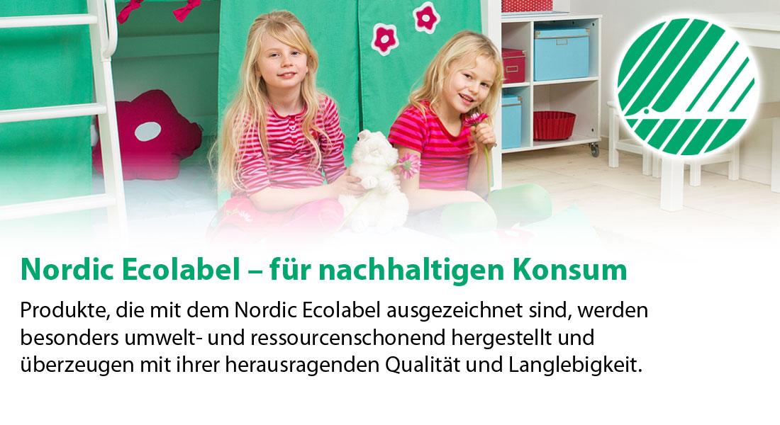 Umweltfreundliche Kindermöbel mit Ecolabel