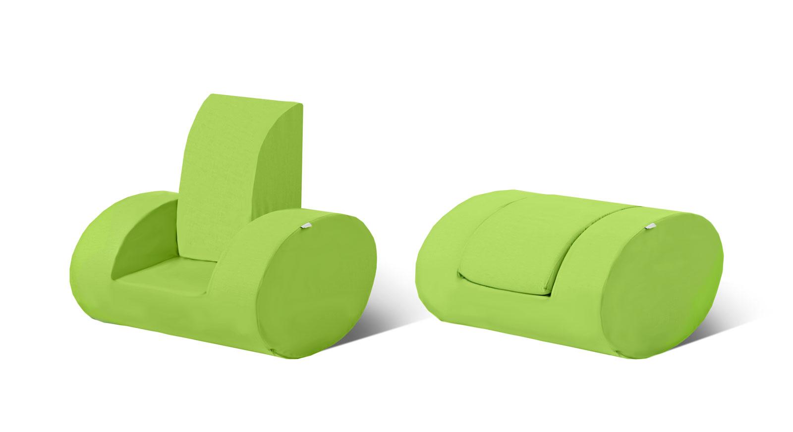 Kindersessel grün  Bequemer Kindersessel in verschiedenen Farben - Kids Heaven