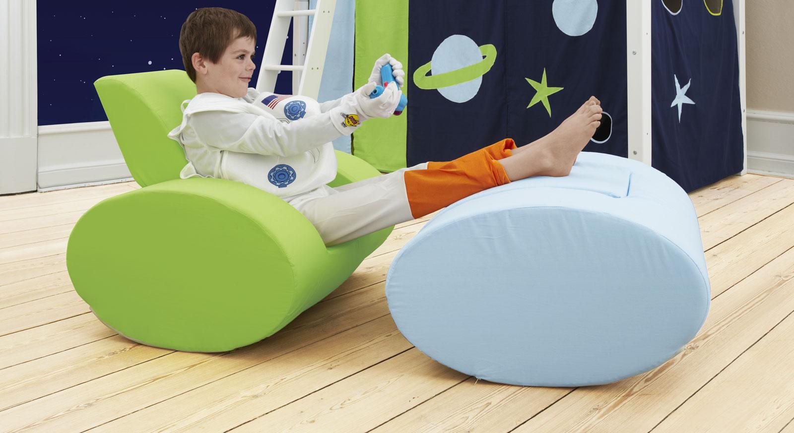Moderner Kindersessel Kids Heaven zum Spielen