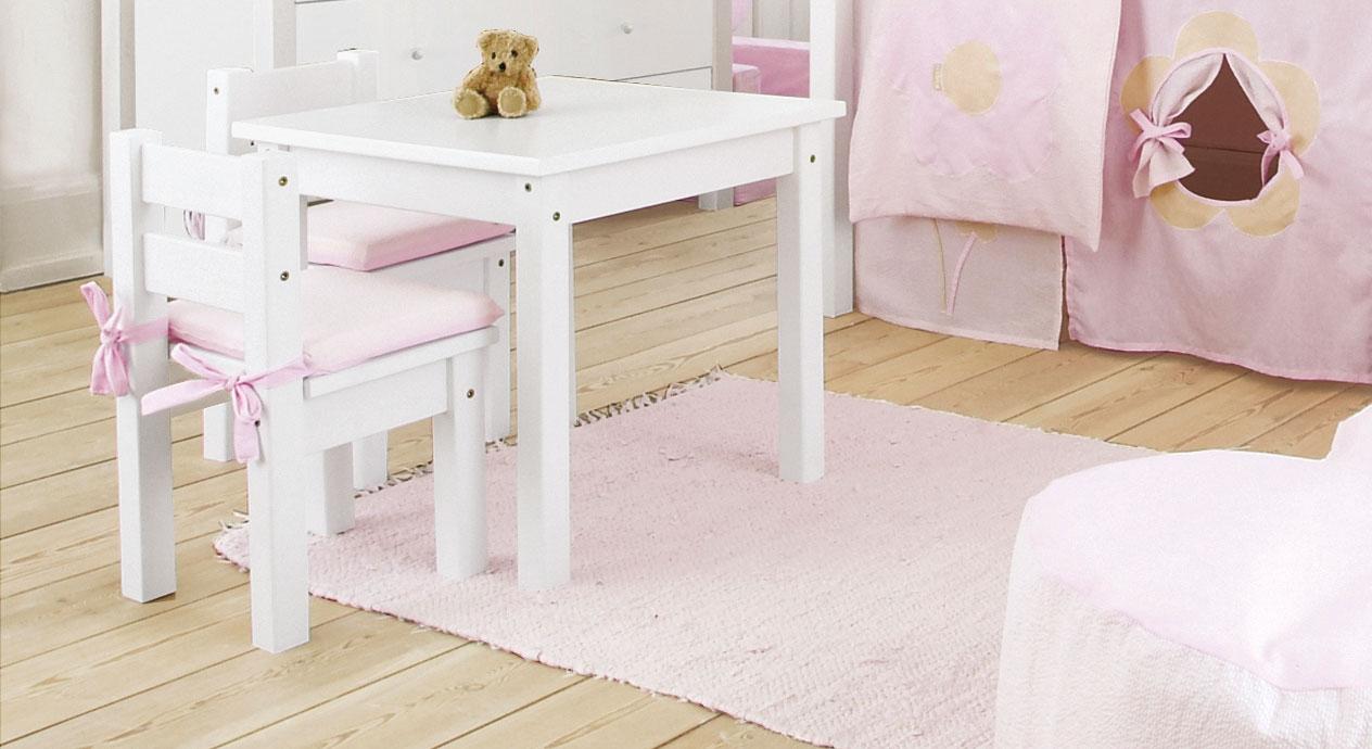 Kindersitzgruppe Kids Heaven mit kleinem Tisch und Stühlen